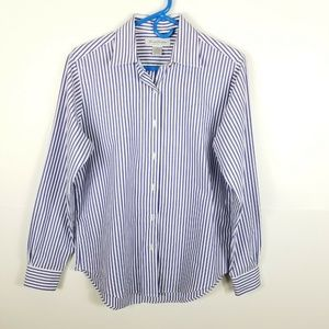 Brooks Brothers Women Button Down Shirt Striped